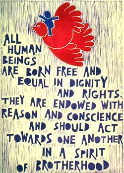 UDHR poster rights for all